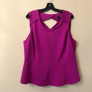 Worthington Peplum Blouse